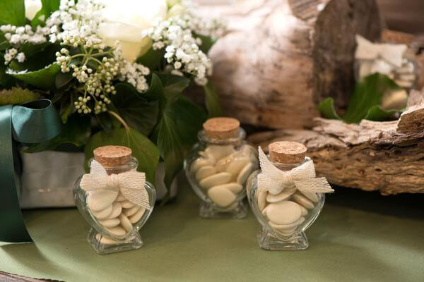 Confection de dragees mariage elegant