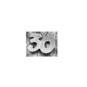 Confetti anniversaire argent 30ans (x10gr) REF/DEC435/30