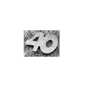 Confetti anniversaire argent 40ans (x10gr) REF/DEC435/40