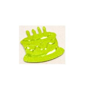 Confetti gâteau d'anniversaire vert menthe (x10gr) REF/DEC464