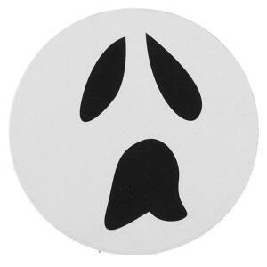 Confetti halloween squelette