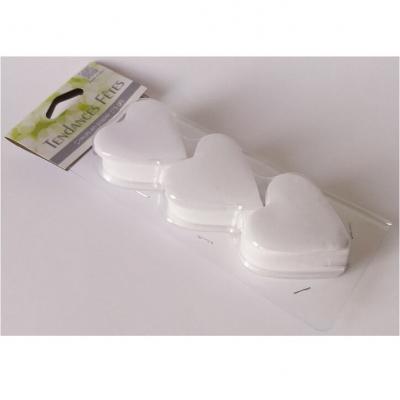Confettis mariage coeur blanc (x75gr) REF/DEC538