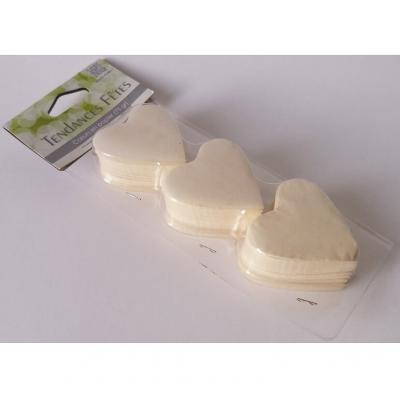 Confettis mariage coeur ivoire (x75gr) REF/DEC538