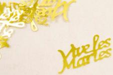 Confetti mariage or: Vive les mariés (x10gr) REF/DEC400
