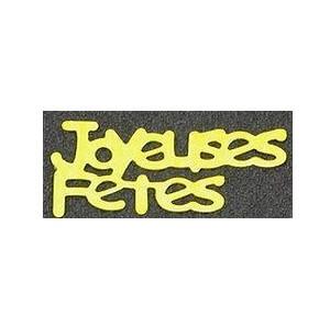 Confetti or joyeuses fetes