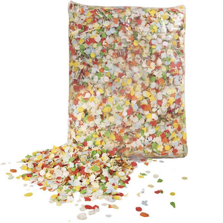 Confettis carnaval multicolore
