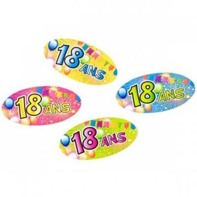 Confettis anniversaire 18ans (x15gr) REF/AA1012PP