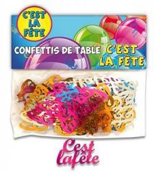 Confettis de table: C'est la fête (x10grs) REF/CT10