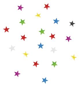 Confettis de table etoile