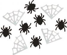 Confettis Halloween: Araignée + toile (x10grs) REF/90035