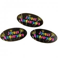 Confettis joyeux anniversaire (x15gr) REF/AA2012CH