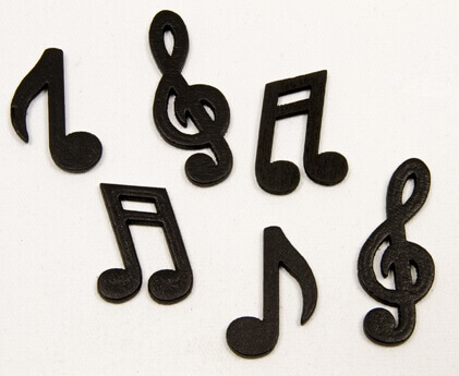 Confettis de table musique