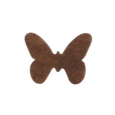Confettis de table papillon chocolat (x12) REF/3014