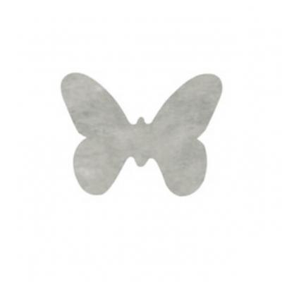 Confettis de table papillon gris (x12) REF/3014