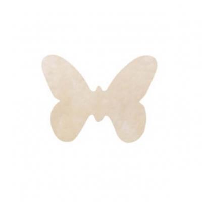 Confettis de table papillon ivoire (x12) REF/3014