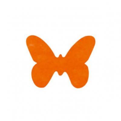 Confettis de table papillon orange (x12) REF/3014