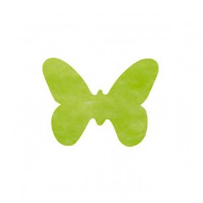 Confettis de table papillon vert (x12) REF/3014