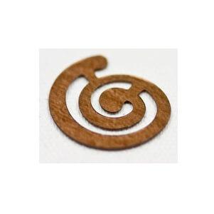 Confettis de table spirale marron (x10grs) REF/DEC463