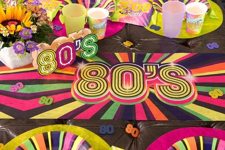 Confettis en bois multicolore annee 80
