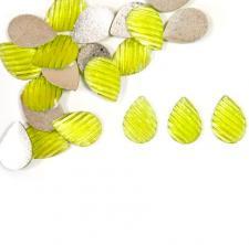 Confettis goutte d'eau vert menthe (x20) REF/DEC683