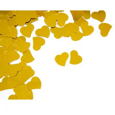Confettis mariage coeur or (x10grs) REF/DEC867