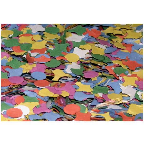 Confettis multicolore de fete carnaval