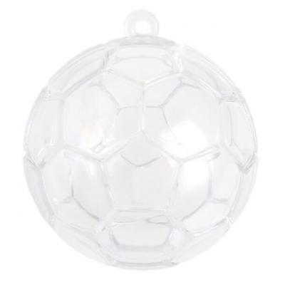 Boule en PVC football, 5cm (x4) REF/4353