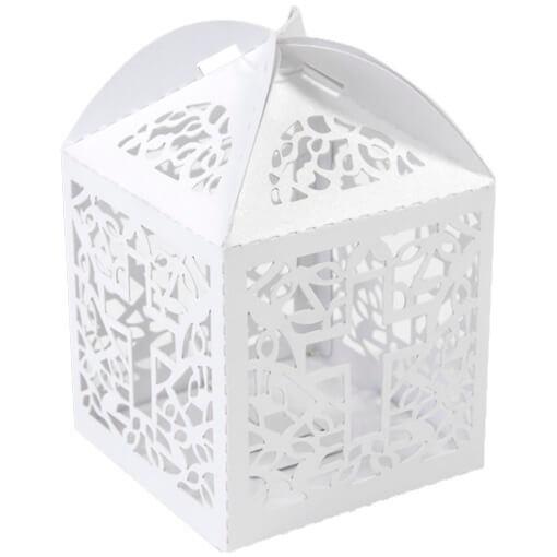 Contenant a dragee communion avec boite blanche
