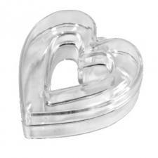 Contenant mariage coeur ajouré (x3) REF/BT2069