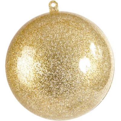 Boule pailletée or 5cm (x1) REF/3628