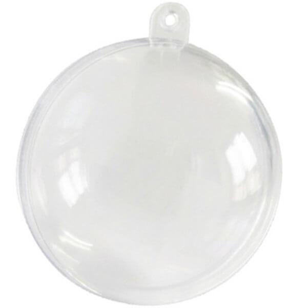 Contenant boule transparente 8cm