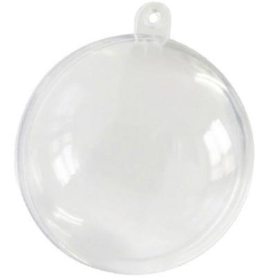 Contenant boule transparente 8cm (x1) REF/2969