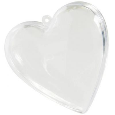 Contenant coeur PVC transparent (x1) REF/2970