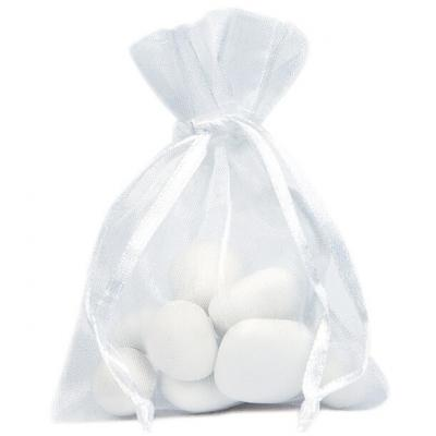 Sac organdi blanc (x10) REF/2462
