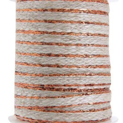 Cordon cuivre avec lisière 6mm x 5m (x1) REF/5146