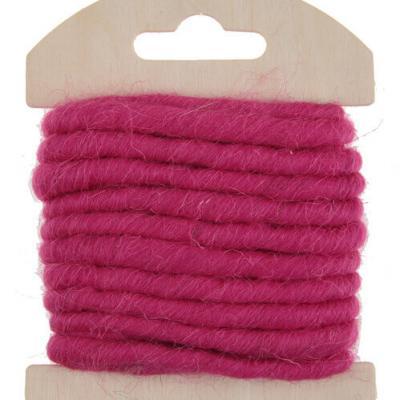 Cordon laine fuchsia (x1) REF/5587