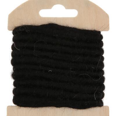 Cordon laine noire (x1) REF/5587