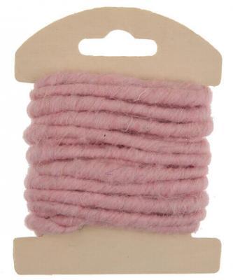 Cordon laine rose (x1) REF/5587