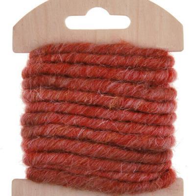 Cordon laine rouge (x1) REF/5587