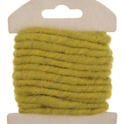 Cordon laine verte (x1) REF/5587