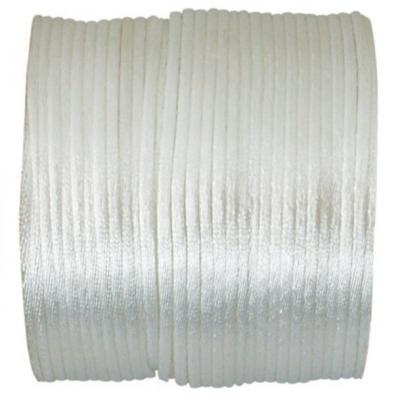 Cordon blanc queue de rat 2mm x 25m (x1) REF/3117