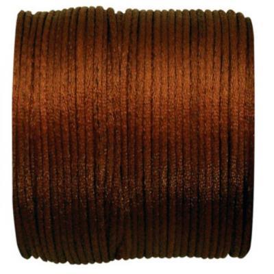 Cordon chocolat queue de rat 2mm x 25m (x1) REF/3117