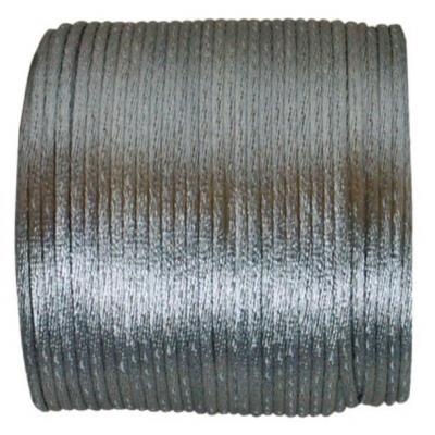 Cordon gris queue de rat 2mm x 25m (x1) REF/3117