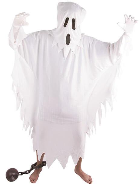 Costume adulte fantome