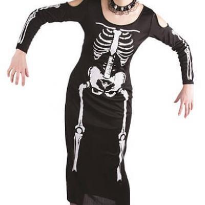 Costume adulte XL Halloween: Squelette (x1) REF/13148