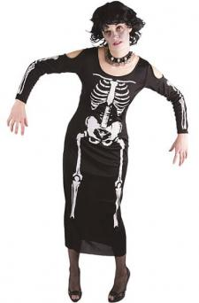 Costume adulte XL Halloween: Squelette (x1) REF/13148