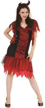 Costume adulte: Diablesse (x1) REF/99503