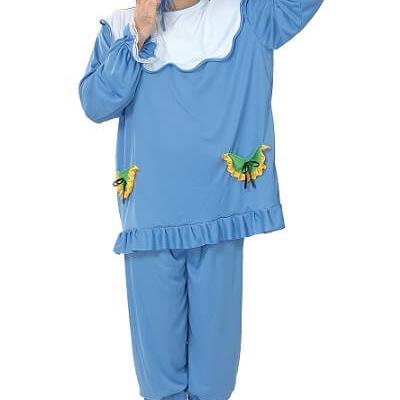 Costume adulte: Bébé bleu (x1) REF/86166