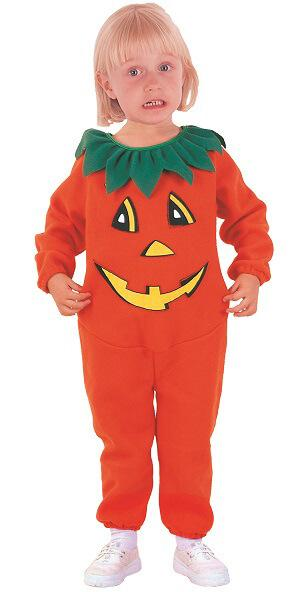 Costume baby fille citrouille
