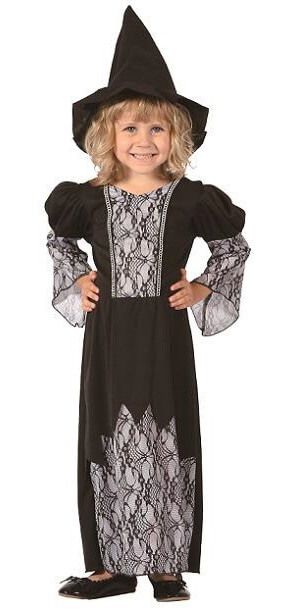 Costume baby fille sorciere 1